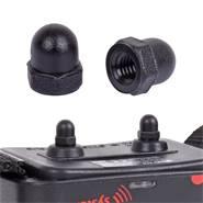 Contactenset, kunststof, 6mm (voor honden-afstandstrainers van DogTrace en VOSS.PET)