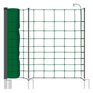 VOSS.farming classic+ 50 meter, 108cm, groen, 20 palen dubbele punt, schrikdraadnet, schapennet