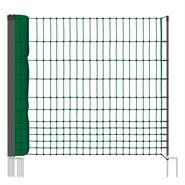 VOSS.farming classic, 25 meter, 112cm, groen, 9 palen, niet elektrificeerbaar, afrasteringsnet