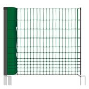 VOSS.farming classic, 50 meter, 112cm, groen, 16 palen, niet elektrificeerbaar, afrasteringnet
