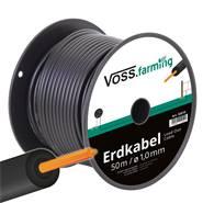 VOSS.farming hoogspanningskabel 50 meter, met gevlochten koperen kern