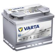VARTA Silver Dynamic AGM accu 12 volt, 60 Ah (c100) gevuld en geladen