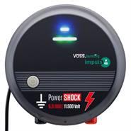 """VOSS.farming """"Impuls V90"""", 230V netstroom, 6.0 joule, 11.500 volt, schrikdraadapparaat, weideklok"""