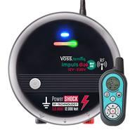"""VOSS.farming """"impuls duo DV40 RF"""" 12V-230V schrikdraadapparaat met afstandsbediening!"""