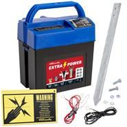 VOSS.farming extra power, 9V batterij 0,28 joule / 9.600 volt schrikdraadapparaat