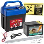 VOSS.farming extra power 9V batterij 0,28 joule/9.600 volt schrikdraadapparaat incl. 9V batterij