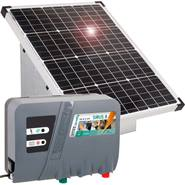 VOSS.farming set: 55W zonne-energie systeem + metalen kast + 12V  SIRUS 8 schrikdraadapparaat