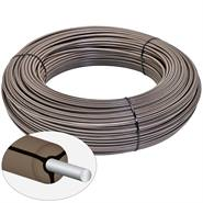 VOSS.farming Mustangwire, Horsewire, Equiwire, permanentkabel 200 meter bruin