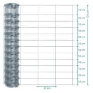 50 meter VOSS.farming Premium plus schapengaas, wildgaas, geknoopt gaas, hoogte 125cm-125/13/30