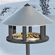 Vogelvoederhuis Odensee, voederstation met opstepaalt voor tuinvogels