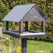 Vogelvoederhuis Paris, exclusief staand Deens design voederstation met opstelvoet voor vogels