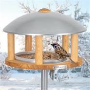 """VOSS.garden vogelvoederhuis """"Kolding"""", voederstation met opstelpaal voor tuinvogels"""