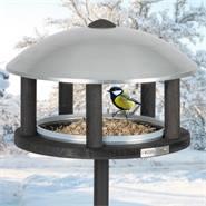 """VOSS.garden vogelvoederhuis """"Viborg"""", voederstation met opstelpaal voor tuinvogels"""