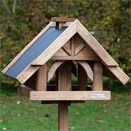 """VOSS.garden vogelvoederhuis """"herte"""" voerhuisje voor vogels met opstelvoet"""