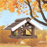 """VOSS.garden vogelvoederhuis """"Jane"""", voederstation met ophangpunt voor tuinvogels"""
