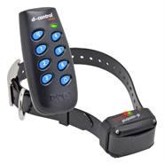 DogTrace D-Control EASY+, teletac elektronische trainingshalsband voor honden vanaf 4kg met premium halsband 200mtr afstandstrainer