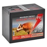 VOSS.farming 9V/ 175Ah alkaline batterij, grote batterij voor in een schrikdraadapparaat