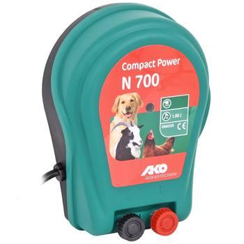 AKO Compact Power N 700 - 230V schrikdraadapparaat - voor honden, katten en kleindieren