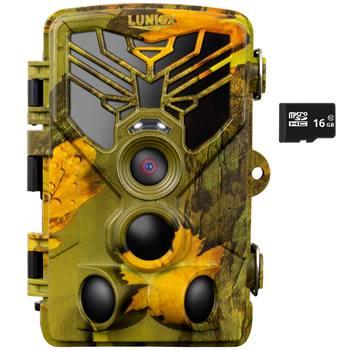 LUNIOX VC24, 24mp, 1080 FullHD, wildcamera met nachtmodus, cameraval, jachtcamera, outdoorcamera