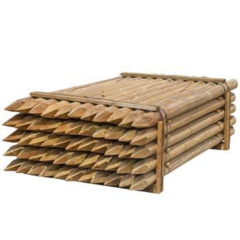 69525-1-55x-voss-farming-250-10cm-ronde-houten-palen-weidepaal-rond-gefreesd-klasse-4-omheiningspaal