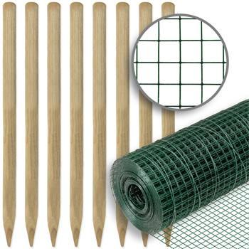 72602-1-voss-farming-omheiningsset-volièregaas-10mx100cm-12,7mmx12,7mm-groen-en-houten-palen.jpg