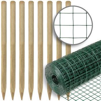 72702-1-voss-farming-omheiningsset-volièregaas-10mx100cm-25,4mmx25,4mm-groen-en-houten-palen.jpg