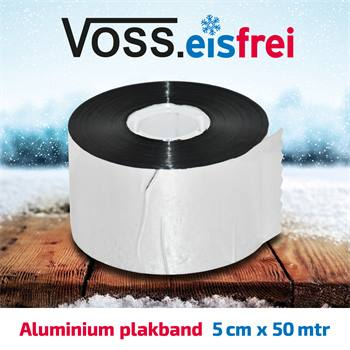 1x  Aluminium plakband 50m x 5cm voor vorstbeschermingskabel
