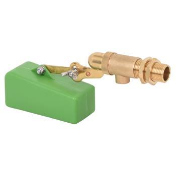 Vlotterventiel voor in drinkbakken, ½ duims aansluiting voor lage druk waterleidingen.