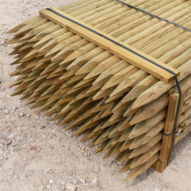 69500-3-119x-voss-farming-150-6cm-ronde-houten-palen-weidepaal-rond-gefreesd-klasse-4-omheiningspaal