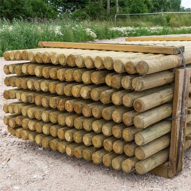 69500-4-119x-voss-farming-150-6cm-ronde-houten-palen-weidepaal-rond-gefreesd-klasse-4-omheiningspaal