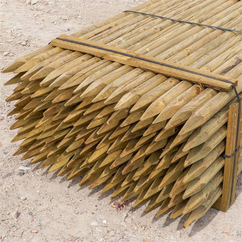 69505-3-119x-voss-farming-200-6cm-ronde-houten-palen-weidepaal-rond-gefreesd-klasse-4-omheiningspaal