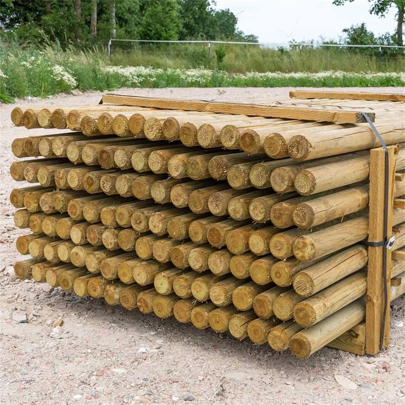 69505-4-119x-voss-farming-200-6cm-ronde-houten-palen-weidepaal-rond-gefreesd-klasse-4-omheiningspaal