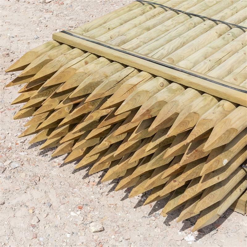 69510-3-70x-voss-farming-175-8cm-ronde-houten-palen-weidepaal-rond-gefreesd-klasse-4-omheiningspaal-