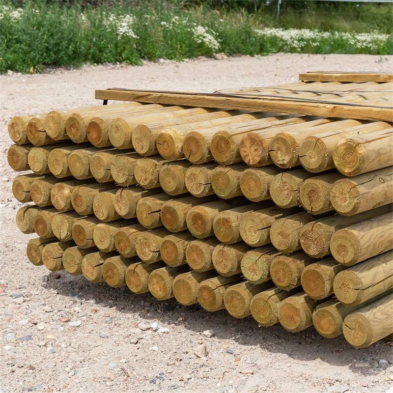 69510-4-70x-voss-farming-175-8cm-ronde-houten-palen-weidepaal-rond-gefreesd-klasse-4-omheiningspaal-