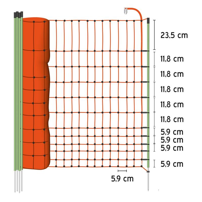 AS-27190-VOSS.farming-euronetz-schrikdraadnet-pluimveenet-afrasteringsnet-oranje-50-meter-112-centim