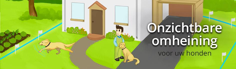 Onzichtbare hondenomheining