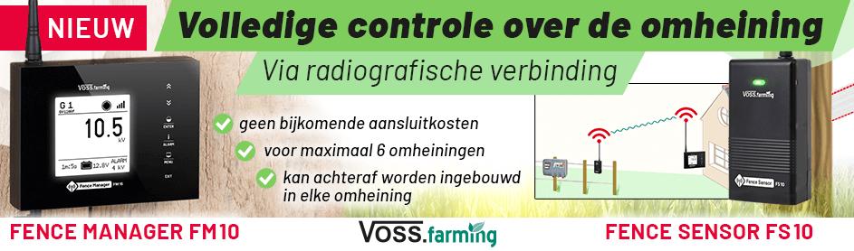 Controle over de omheining via RF