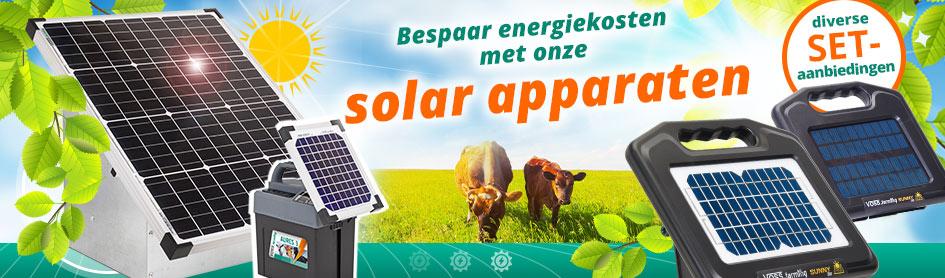 Bespaar op energiekosten met onze solar-apparaten