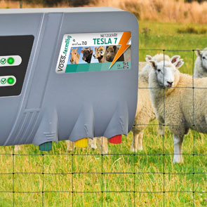 Schrikdraadapparaten voor schapen